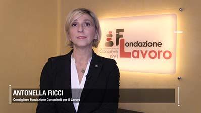 Fondazione Lavoro - Antonella Ricci. Le politiche attive in Emilia Romagna
