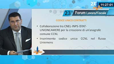 Marcantonio: DDL CNEL su codice unico CCNL