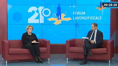 Intervista 21 Forum alla Presidente CNO Consulenti del Lavoro