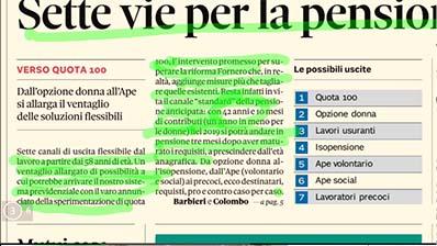 Rassegna Stampa - 14.01.2019