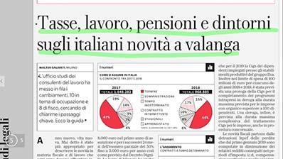 Rassegna Stampa - 04.03.2019