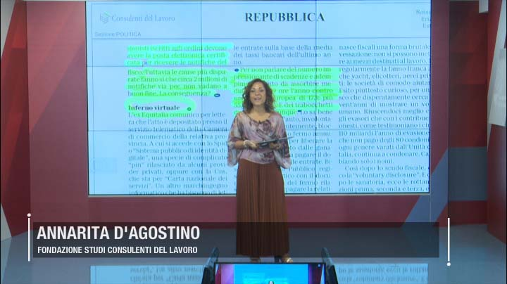 Rassegna Stampa - 22.07.2019