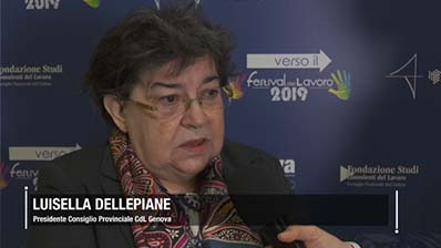 Dellepiane: l'impegno dei CdL nella zona rossa di Genova