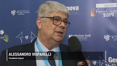 Visparelli, circa il 60% del patrimonio Enpacl investito in Italia
