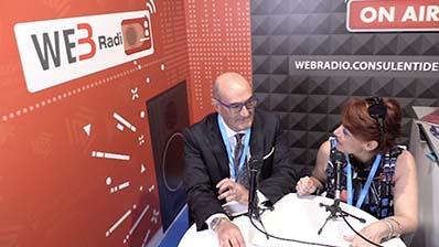 Potito Di Nunzio ospite alla WebRadio del Festival del Lavoro