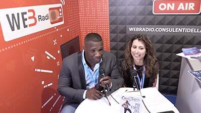 Oney Tapia ospite alla WebRadio al Festival del Lavoro