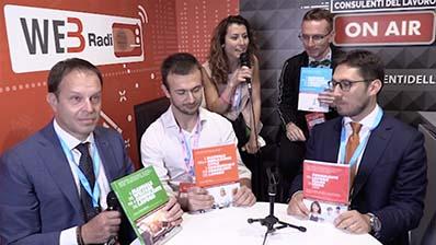 Orlando, Caratti, Fiori, Furlan ospiti alla WebRadio al Festival del Lavoro