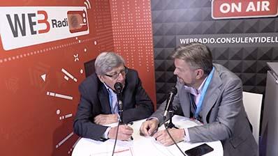 Vincenzo Scotti ospite alla WebRadio al Festival del Lavoro