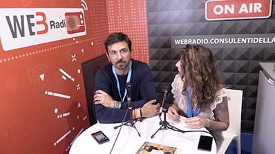 Oscar di Montigny ospite in WebRadio al Festival del Lavoro