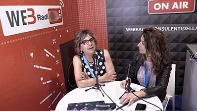 Luisella Fassino ospite in WebRadio al Festival del Lavoro