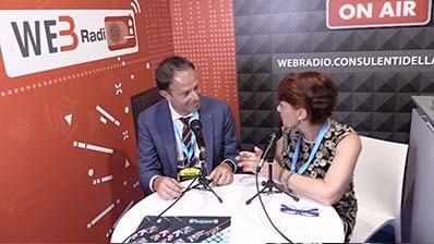 Luca Caratti ospite in WebRadio al Festival del Lavoro