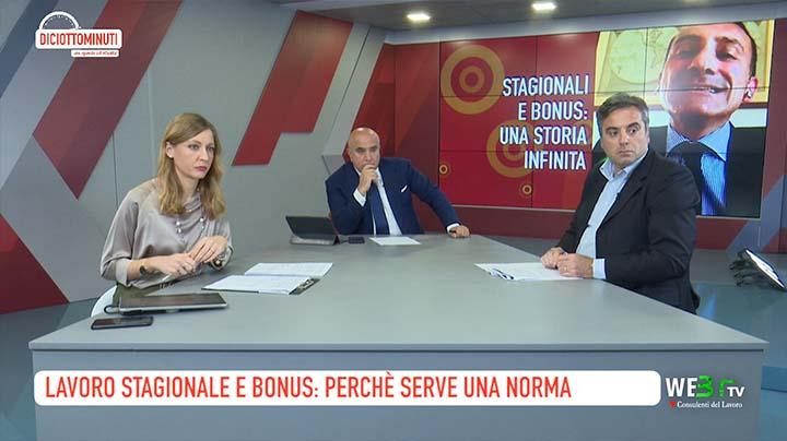 Capaccio, Staropoli - Lavoro stagionale e bonus: perchè serve una norma