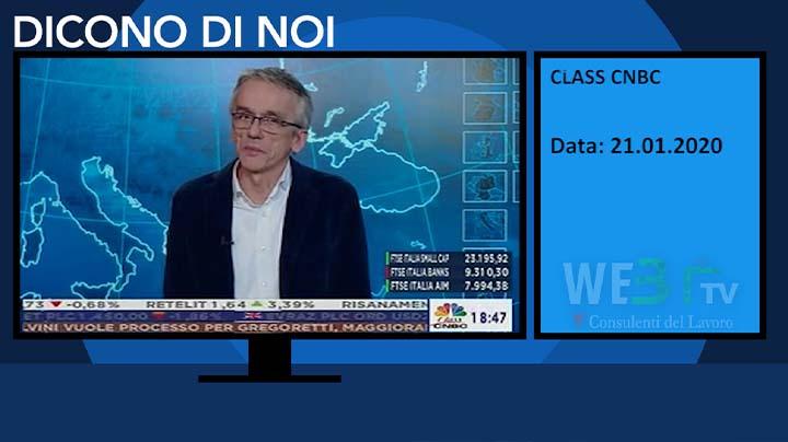 Class CNBC del 21.01.2020
