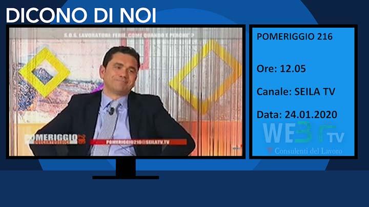 Seila TV del 24.01.2020 delle 12.05