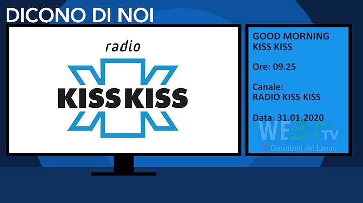 Radio Kiss Kiss del 31.01.2020 delle 09.25