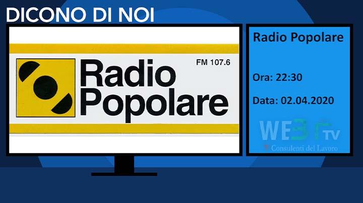 Radio Popolare del 02.04.2020 Ultimo notiziario