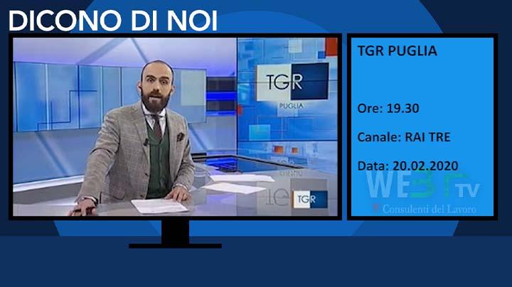 TGR Puglia del 20.02.2020 delle 19.30