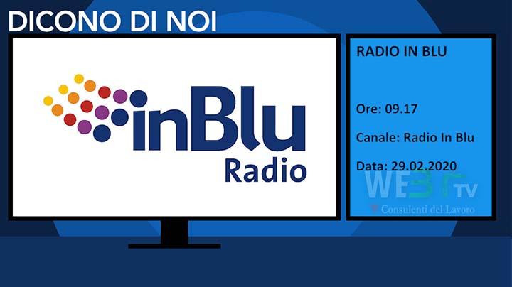 Radio in Blu del 29.02.2020 delle 09.17