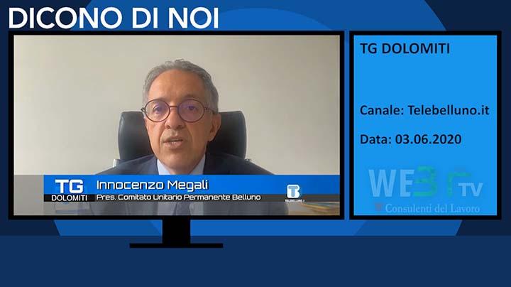 Tg Dolomiti del 03.06.2020
