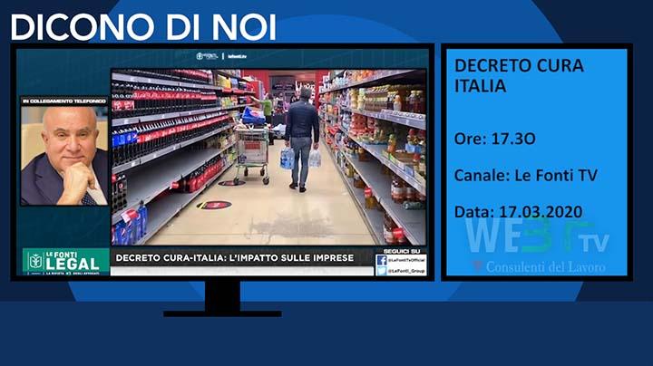 Le Fonti TV del 17.03.2020 delle 17.30