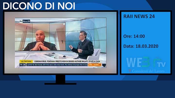 RaiNews24 del 18.03.2020 delle 14:00