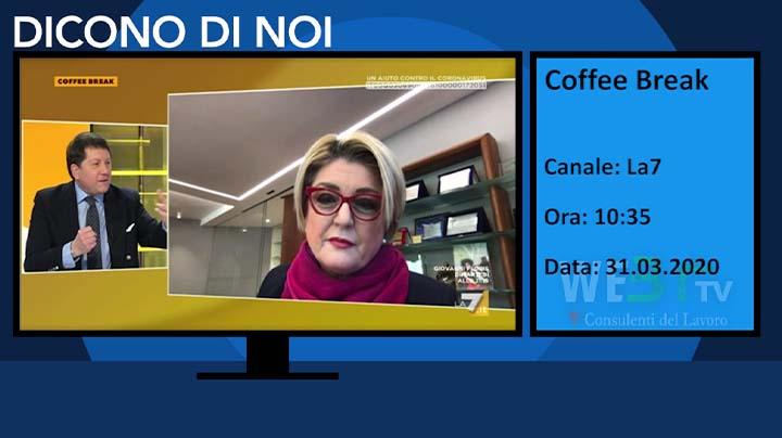 Coffee Break del 31.03.2020