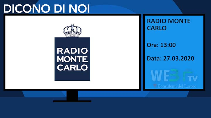 Radio Monte Carlo del 27.03.2020