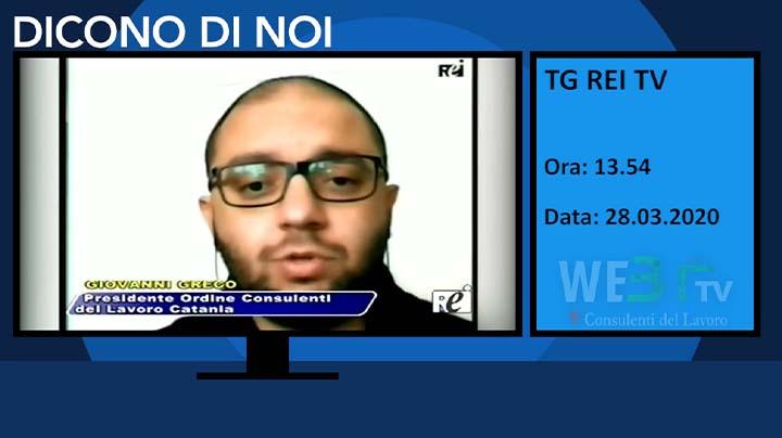 Tg REI TV del 28.03.2020