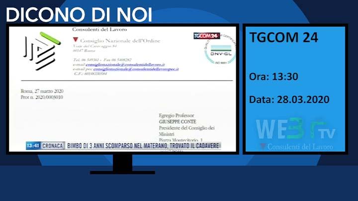 TGCOM 24 del 28.03.2020