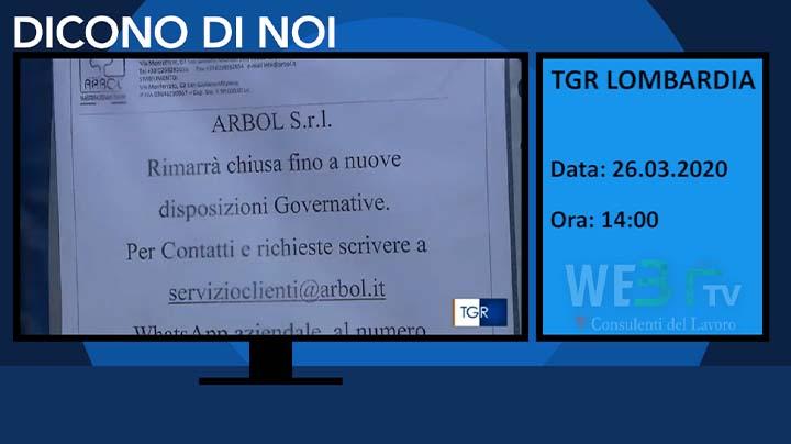 TGR Lombardia del 26.03.2020