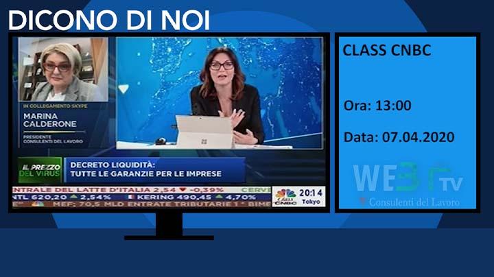 Class CNBC del 07.04.2020 ore 13:00