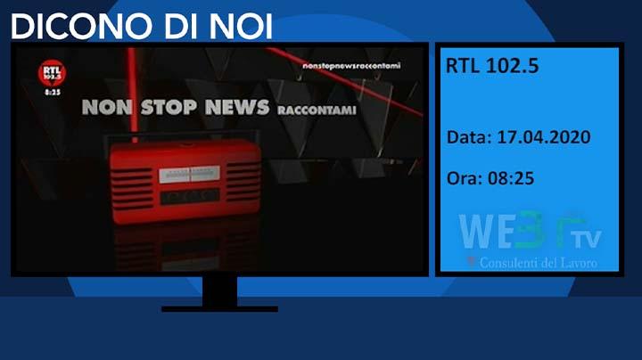 RTL 102.5 del 17.04.2020