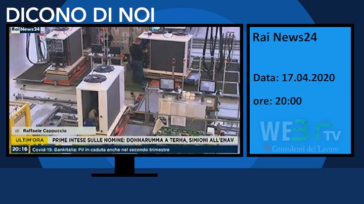 RaiNews24 del 17.04.2020