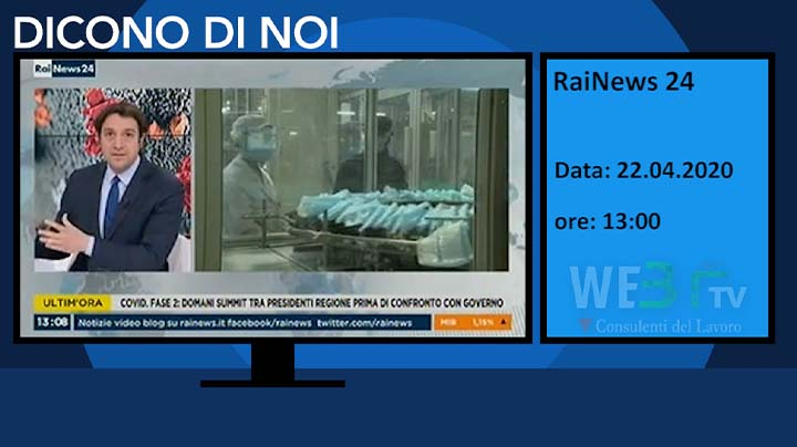 RaiNews 24 del 22.04.2020