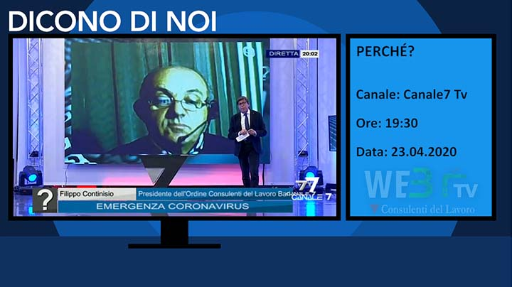 Canale 7 Tv del 23.04.2020