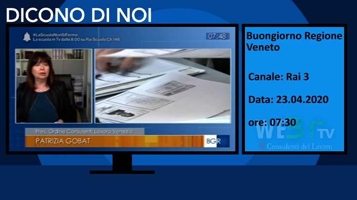 Buongiorno Regione Veneto del 23.04.2020
