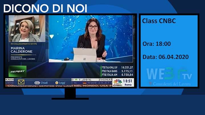Class CNBC del 06.04.2020