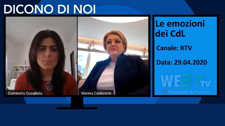 RTV Le emozioni dei CdL del 29.94.2020