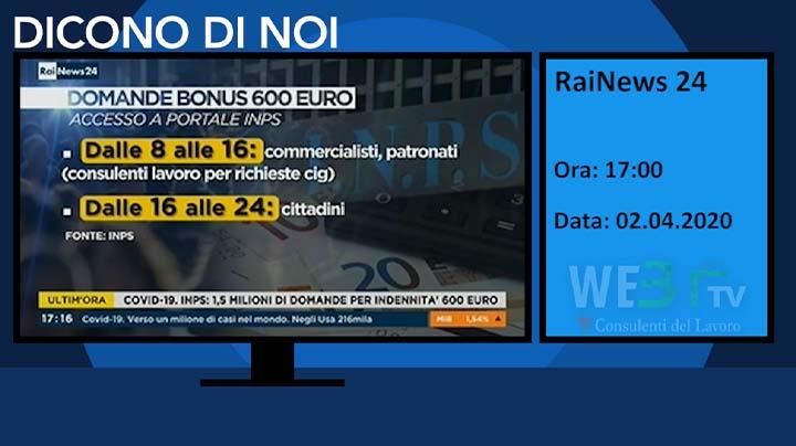 Rai News 24 del 02.04.2020