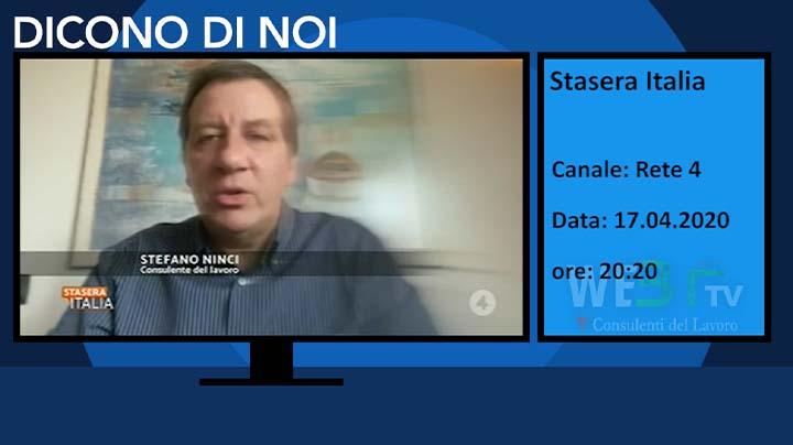 Stasera Italia del 17.04.2020