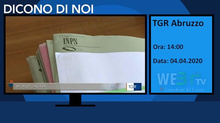 TGR Abruzzo del 04.04.2020