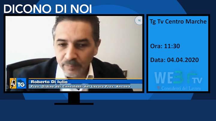 Tg Tv Centro Marche del 04.04.2020