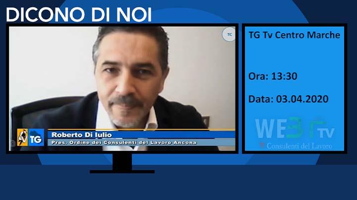 Tg Tv Centro Marche del 03.04.2020
