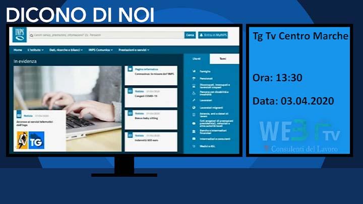 Tg Tv Centro Marche del 03.04.2020 13:30