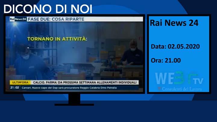 RaiNews 24 del 02.05.2020