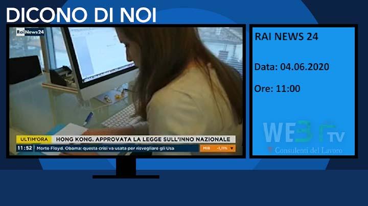 Rai News 24 del 04.06.2020