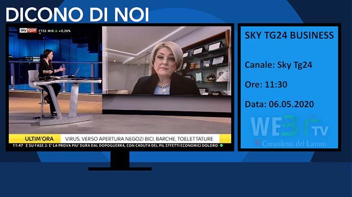 Sky Tg24 Business del 06.05.2020