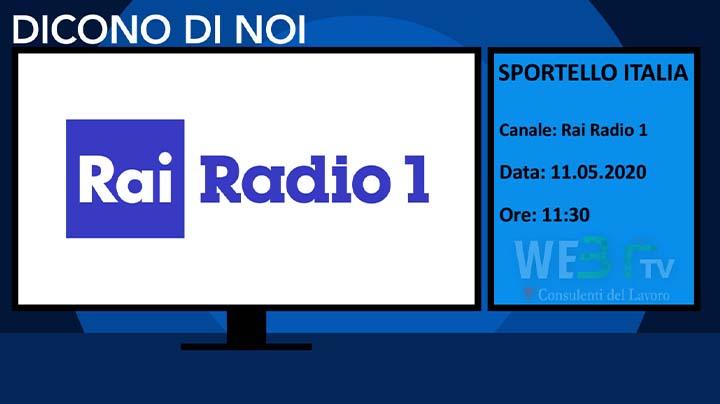 Sportello Italia del 11.05.2020