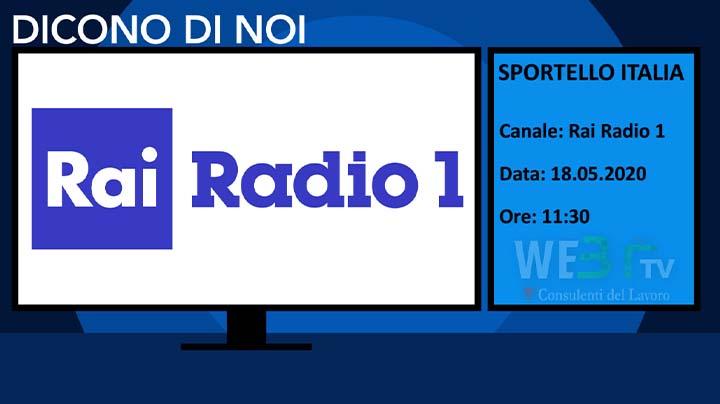 Sportello Italia del 18.05.2020