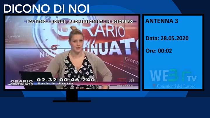 Antenna 3 del 28.05.2020